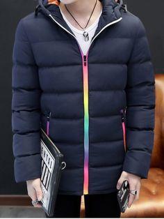 okaywowcool:  rainbow zipper coat| $27.48