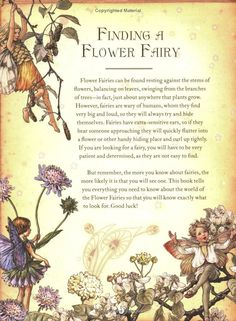 The Girls' Book of Flower Fairies, Cicely Mary Barker