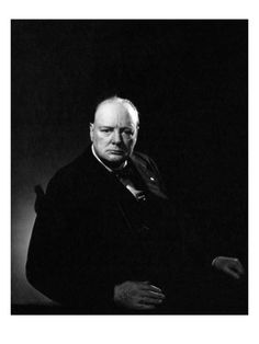 My favourite Winston Churchill circa 1932 shot by Edward Steichen for Vanity Fair