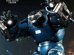 Ironman 3 : Igor action figure