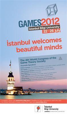Oyun Teorisi Dünya Kongresi Bilgi'de