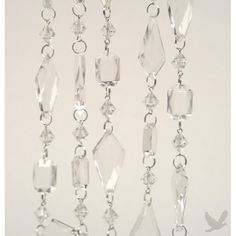 Beaded Acrylic Chandelier Garland 6 Feet 72 Inches Our Price 8 98