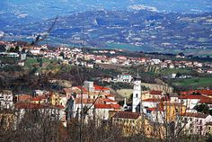 Torre Le Nocelle, Italy. This is the town where my father's family is from