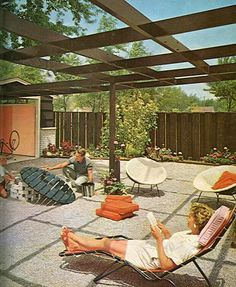 From a mid century landscaping book