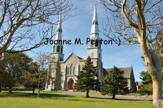 Catholic Chuch in Brigus Newfoundland! My Heritage, Newfoundland, All Pictures, 30 Years, I Fall In Love, Catholic, Mansions, House Styles, Heart