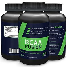 BCAA Lean Muscle Growth Protein Nutritional Supplement by Fitness Fusion  100 Natural Effective Branch Chain Amino Acids Formula for Mass Gain Bodybuilding and Weightlifting Athletes 60 Capsules -- Read more reviews of the product by visiting the link on the image.  This link participates in Amazon Service LLC Associates Program, a program designed to let participant earn advertising fees by advertising and linking to Amazon.com.