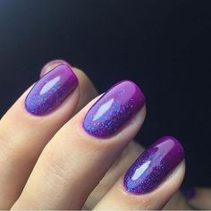 Accurate nails, Bright gradient nails, Easy nail designs, Evening ...