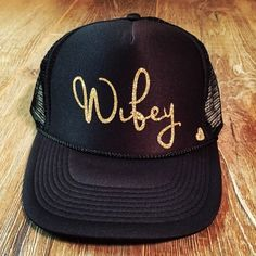 6604e0403f9df Wifey from Mother Trucker   co. for  25.00 Mom Hats