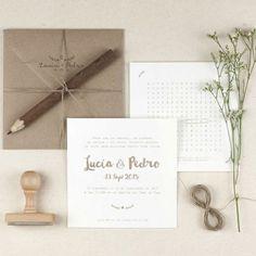 Románticas y elegantes como el otoño: así pueden ser tus invitaciones de boda Image: 4