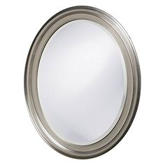 Special Offers - Howard Elliott 40109 George Oval Mirror Brushed Nickel Review - In stock & Free Shipping. You can save more money! Check It (October 31 2016 at 04:04PM) >> http://bathvanitiesusa.net/howard-elliott-40109-george-oval-mirror-brushed-nickel-review/