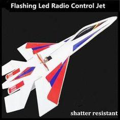 LED Jet Has Shatter Resistant Foam + Free LED Lights #rcairplanes