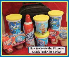 How to Create the Ultimate Snack Pack Gift Basket #SnackAndGo #CollectiveBias #ad