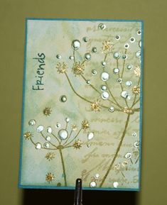 Pop Stem ATC by newkidfish (Cathy A), via Flickr