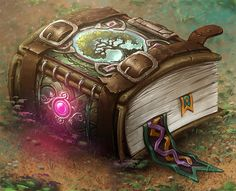 [/r/ImaginaryArtifacts] Spellbook of the Wild by Yaron Granot