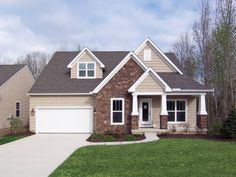 Small craftsman exterior style
