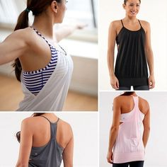Lululemon No Limit Tank Tops