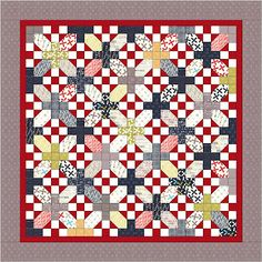 "I have a Layer Cake that might work great for this pattern. Moda Bake Shop: ""Nough Said"" Layer Cake Quilt"