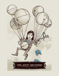 Scott Avett by artist Clinton Reno