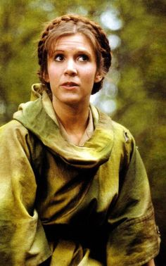 princess leia endor | Carrie Fisher as Princess Leia from Star Wars Return Of The Jedi