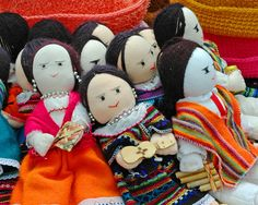 Dolls dolls and more dolls. #incabag