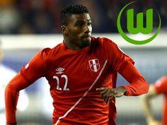 Carlos Ascues a un paso de fichar por el Wolfsburgo de la Bundesliga. July 17, 2015.