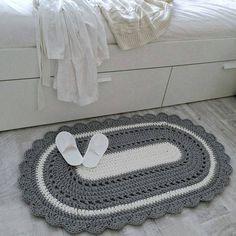 Shag Carpet, Rugs On Carpet, Crotchet Baby Blanket, Crochet Stitches, Crochet Patterns, Free Crochet, Knit Crochet, Knit Rug, Crochet Carpet