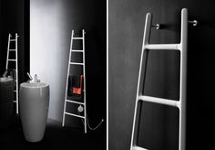 Aluminium electric radiator: Scaletta by Tubes