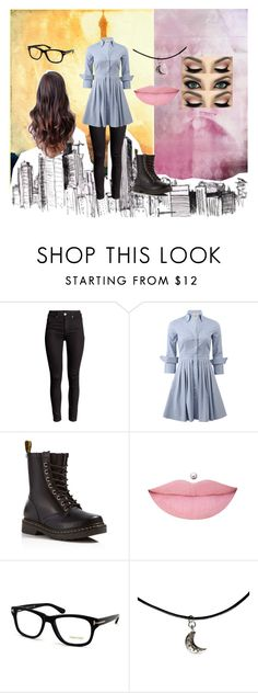 """""""Just bored #4"""" by mother-of-anime-pandas ❤ liked on Polyvore featuring Michael Kors, Dr. Martens and Tom Ford"""