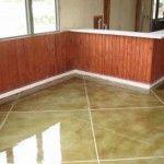 Decorative concrete options ... Nice idea vs wood flooring