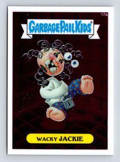 Garbage Pail Kids #17a Wacky JACKIE 2013 CHROME Series 1 Topps