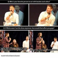I'm so happy mish wants to do this show even when his agent says not to
