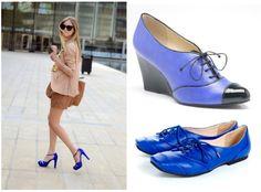 Neuaura Royal Blue shoes