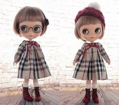 ◆Blythe Outfit◆ブライス♪X'masおでかけコーデ8点set NO72 - ヤフオク!