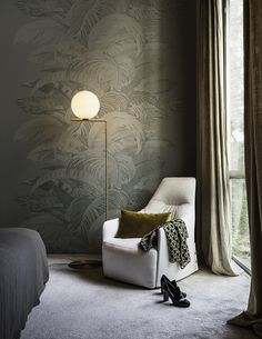 Can can www.wallanddeco.com #wallpaper, #wallcovering, #cartedaparati