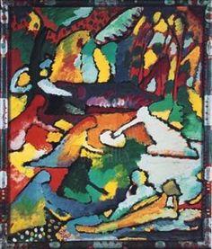 Wassily Kandinsky, compositie 2