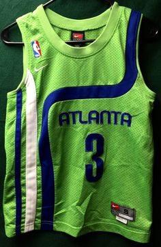 Atlanta Hawks Shareef Abdur-Rahim Unique Style Jersey Child's Size Small Length…