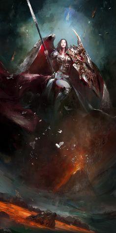 Nirvana by Ping He | Fantasy | 2D | CGSociety
