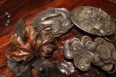 vintage belt buckle USA / винтажные американские пряжки