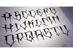 Tattooing font – Graffiti World Tattoo Lettering Styles, Graffiti Lettering Fonts, Chicano Lettering, Tattoo Script, Script Lettering, Calligraphy, Graffiti Tattoo, Tinta Tattoo, Graffiti Alphabet Styles
