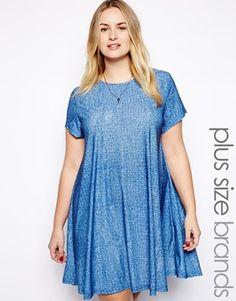 Alice & You Jersey Swing Plus Size Dress