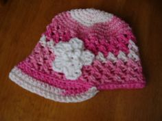 3 T 6 Month Crochet Pink Self Striping by Kniftyhooksneedles, $12.50