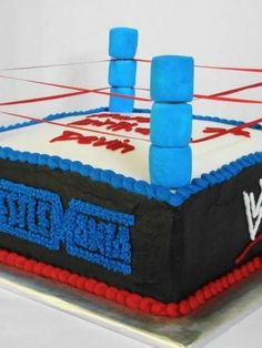 Wrestling Ring - side view