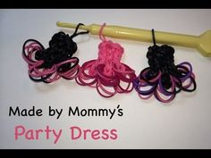 I did it and it's ADORABLE!!  Rainbow Loom Ballerina Party Dress Charm