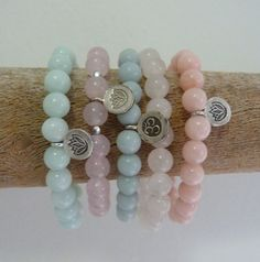 beachcomber yoga by the sea  crystal healing bracelets by beachcomberhome on Etsy, $20.00