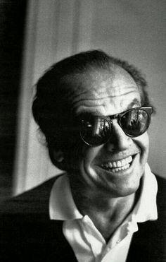 Jack Nicholson, my estranged father. Jack Nicholson, John Malkovich, Looks Black, Black And White, Badass Movie, Robert Downey Jr., Celebrity Portraits, Celebrity Travel, Best Actor