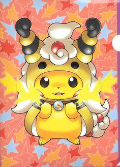 pikachu-mega ampharos