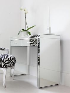 Mirrored dressing table from Out There Interiors