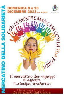 Desenzano del Garda: due appuntamenti con il Mercatino della solidarietà 2013 @GardaConcierge #NewsGC #Natale