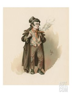 The Artful Dodger, Illustration from 'Character Sketches from Charles Dickens', C.1890 Giclee Print by Joseph Clayton Clarke at Art.co.uk