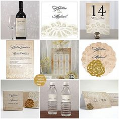 see the wedding themes inspired by this exquisite vintage wedding stationery collection